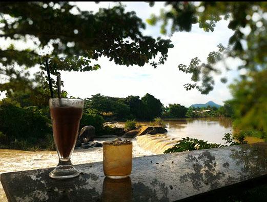 quán cà phê đẹp ở hồ tràm 5
