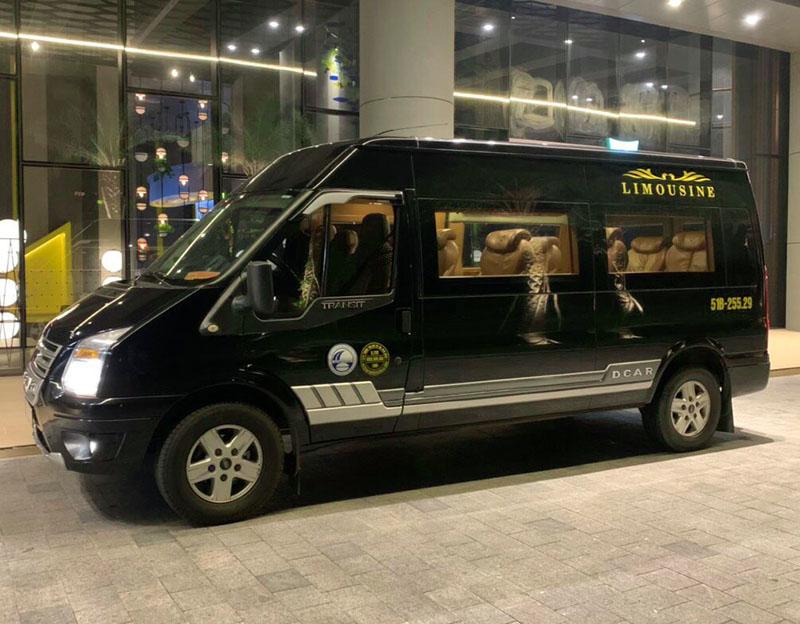 giá thuê xe limousine 10 chỗ ở tphcm